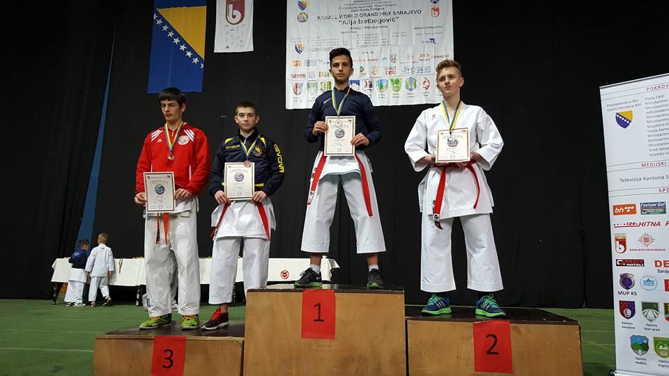 Karate klub Tešanj na turniru u Sarajevu.