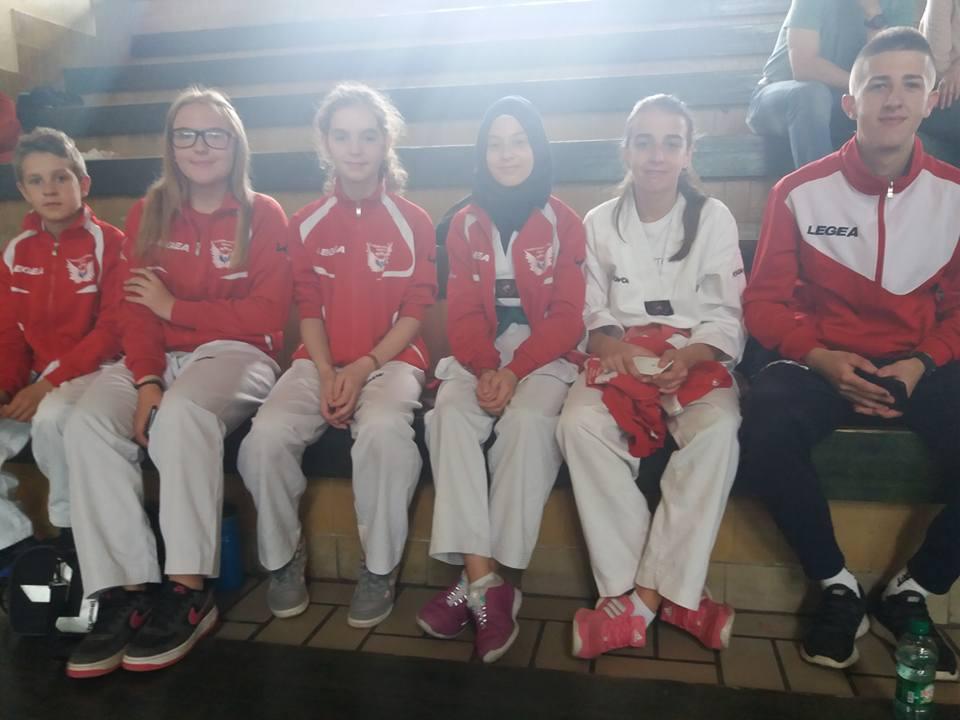 Taekwondo akademija Tešanj uspješna na takmičenju u Visokom.