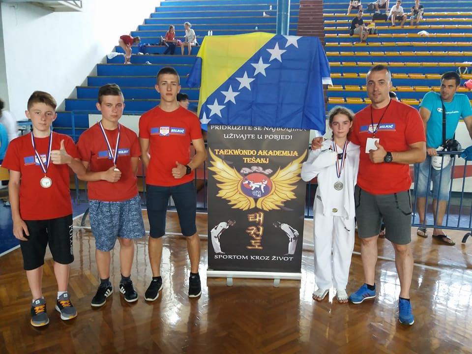 Taekwondo akademija Tešanj uspješna na turniru u Zadru.