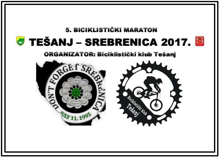 Biciklistički maraton Tešanj – Srebrenica.