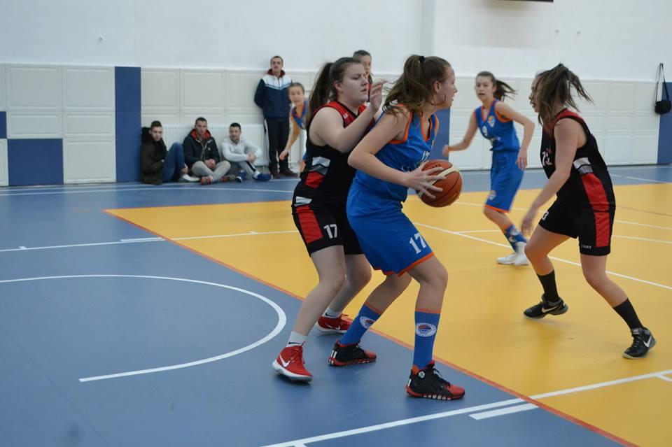 Peto kolo Lige mladih ZDK: Pobjeda naših košarkašica.